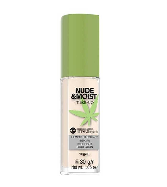 Buy Bell Hypoallergenic Makeup Base Nude Moist 01 Light Beige Maquibeauty