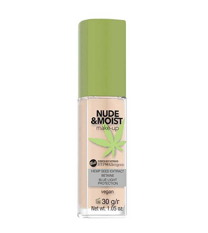 Buy Bell Hypoallergenic Makeup Base Nude Moist 03 Sand Maquibeauty