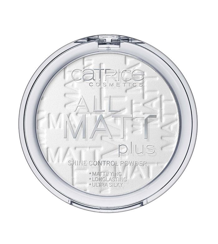 Catrice - All Matt Plus Shine Control Powder - 001 Universal