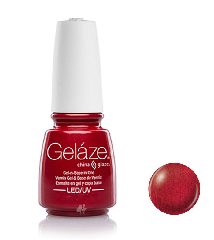 Buy China Glaze - Geláze Gel nail lacquer - 81674: Red Pearl > nails ...
