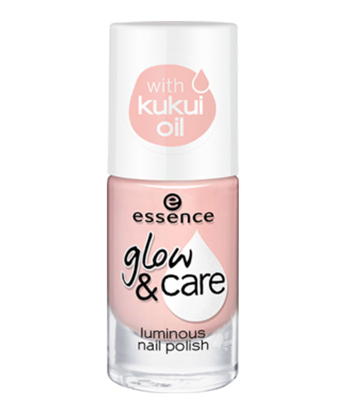 Buy essence - Glow & care luminous nail polish - 01: Care is in the ...