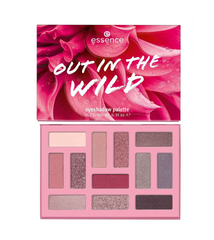 Buy essence - Out In The Wild Eyeshadow Palette - 01: Don't Stop Blooming!  | Maquibeauty