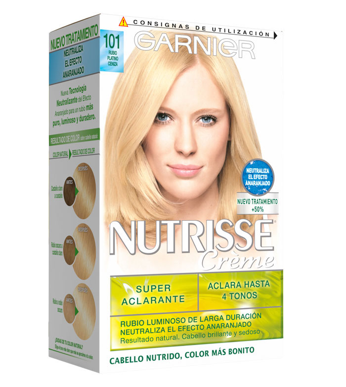 Buy Garnier Coloring Nutrisse 101 Ultra Light Beige Blonde