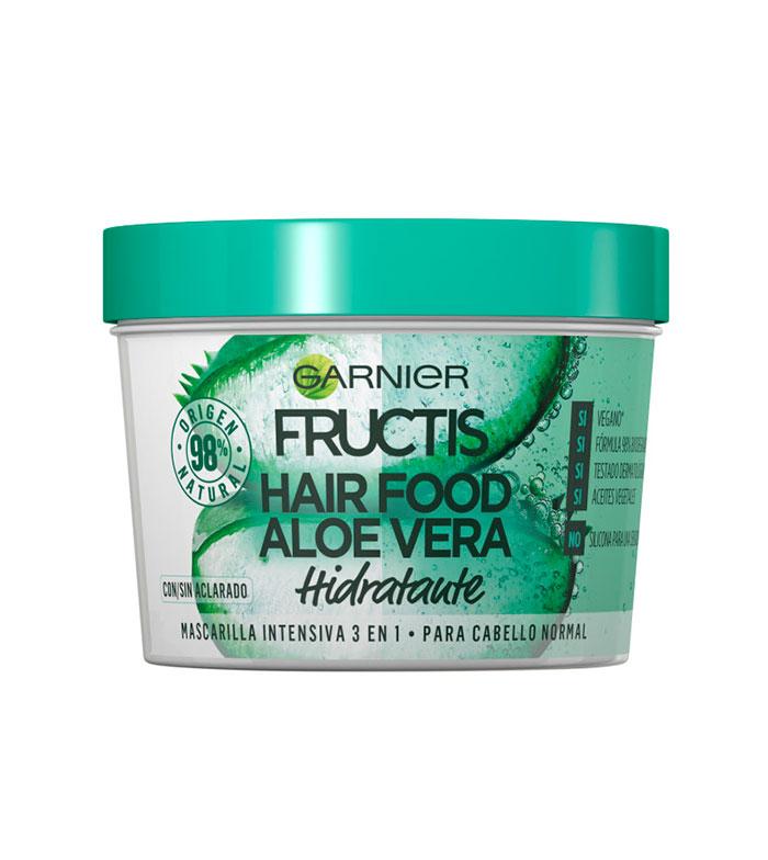 Buy Garnier Fructis Hair Food Mask 3 In 1 Aloe Vera Normal Hair Maquibeauty