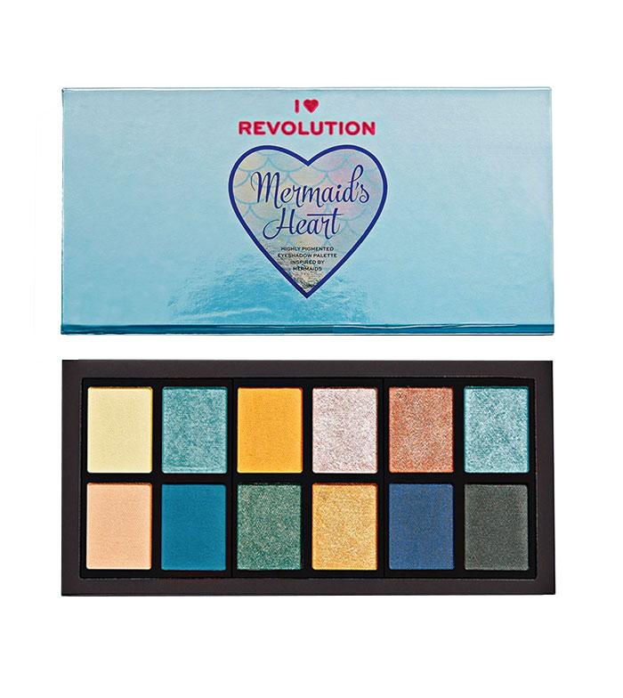 I Heart Revolution - Mermaid's Heart Eyeshadow Palette
