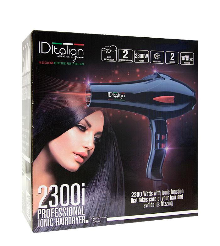Id Italian Design.Id Italian Design 2300i Professional Ionic Hairdryer