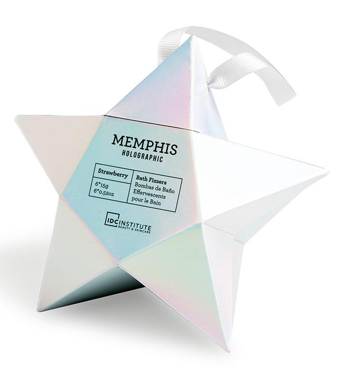 IDC Institute - Memphis Holographic Mini-Bomb Set - Strawberry