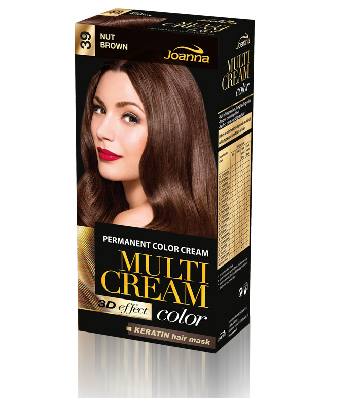 Joanna - Hair colouring cream - 39 Nut Brown