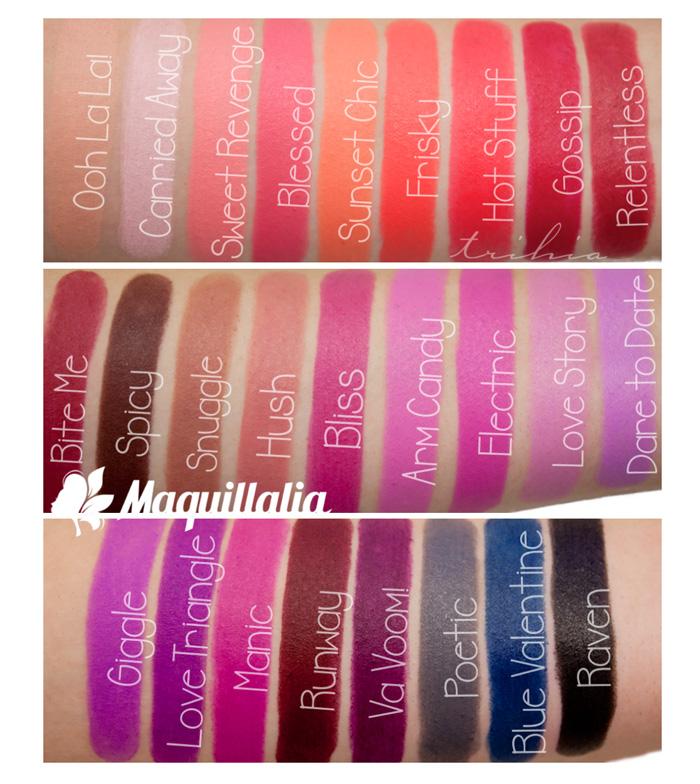 Buy La Girl Matte Flat Velvet Lipstick Glc803 Sweet Revenge