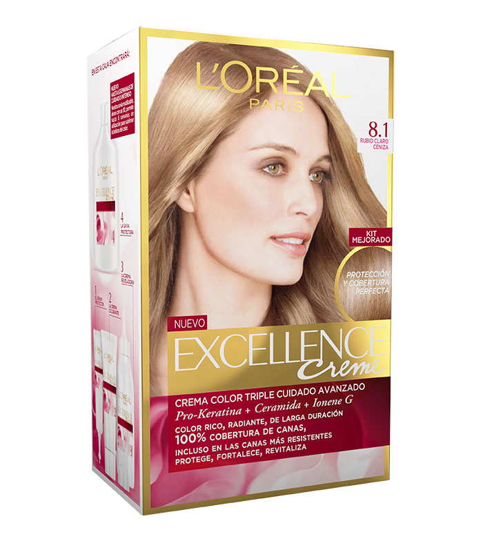 Buy Loreal Paris Excellence Creme Triple Protection Coloring 81
