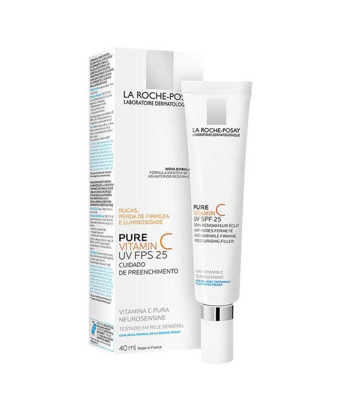 Buy La Roche Posay Firming Anti Wrinkle Cream Pure Vitamin C Uv Spf25 Maquibeauty