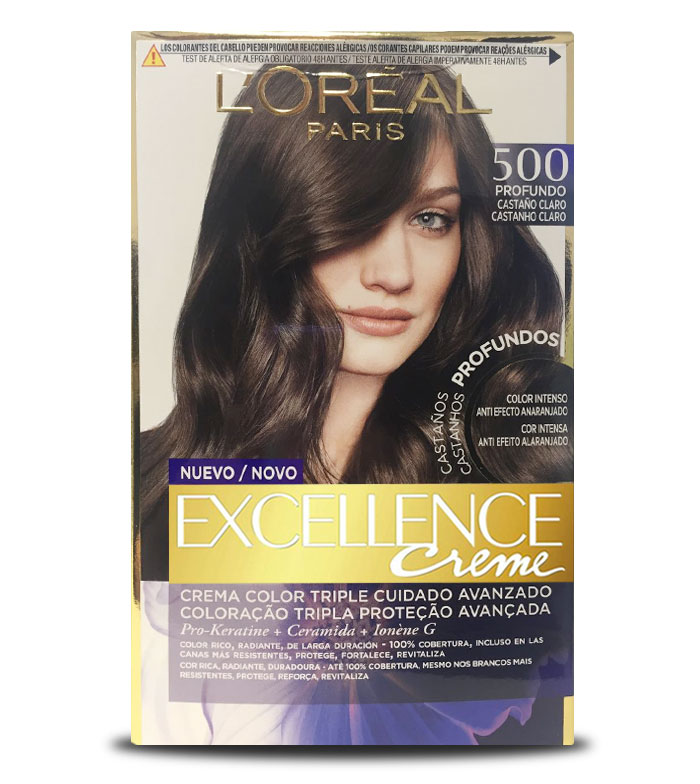 Buy Loreal Paris Excellence Creme Triple Protection Coloring 500