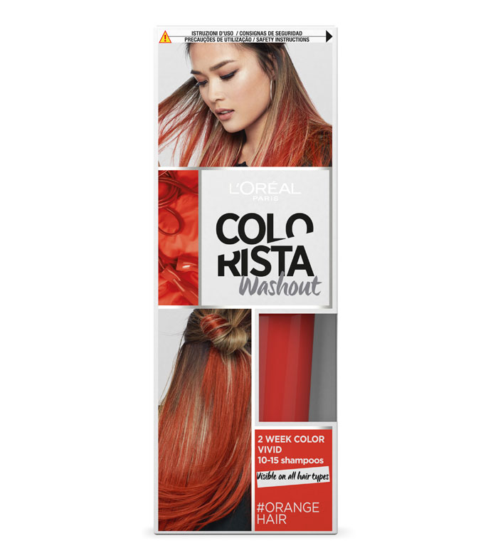 Buy Loreal Paris Colorista Washout Orange Hair Hair Hair Dyes