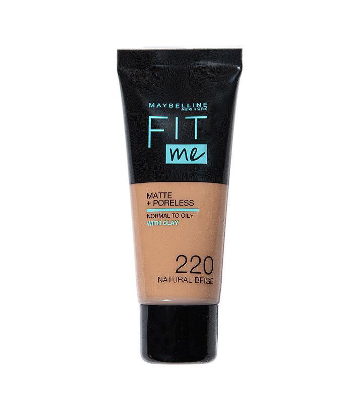 Maybelline Fit Me Foundation Matte Poreless 220 Natural Beige