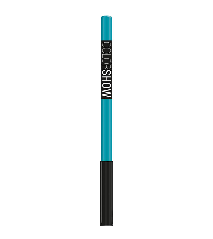 buy maybelline liner eye color show 210 turquoise flash eyes