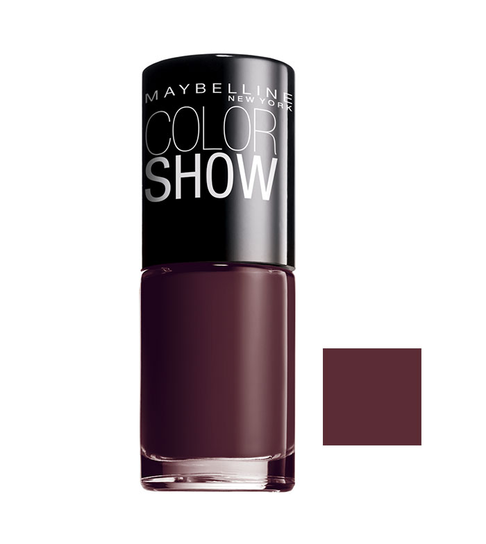 Maybelline Nail Polish Color Show 357 Burgundy Kiss