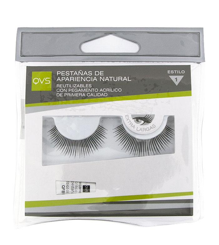 214523fb309 Buy QVS - Natural looking eyelashes - 01 > eyes > false lashes > makeup