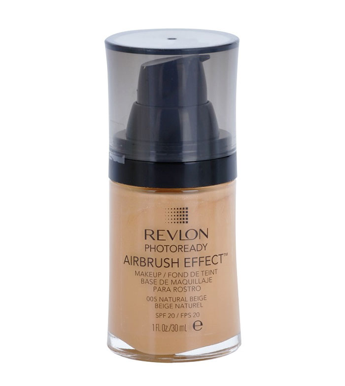 Revlon - ColorStay liquid foundation Photoready Airbrush effect - 005: Natural Beige