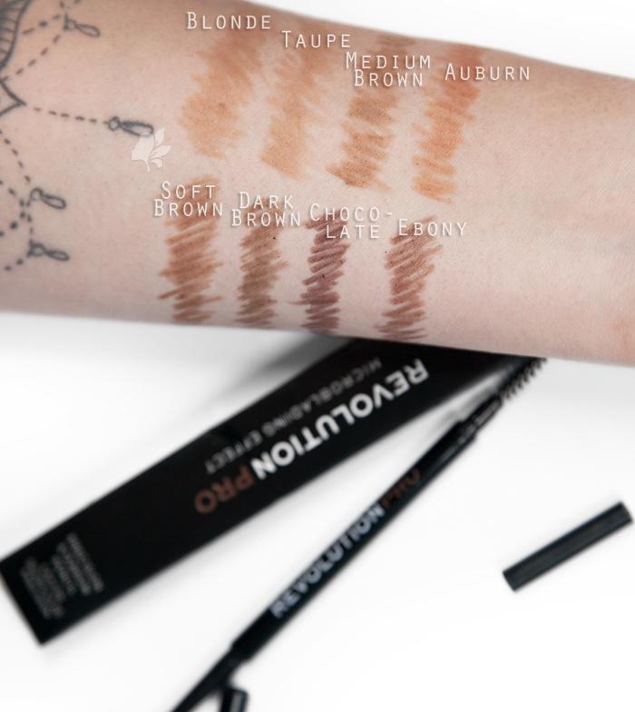 Buy Revolution Pro Microblading Precision Eyebrow Pencil Medium