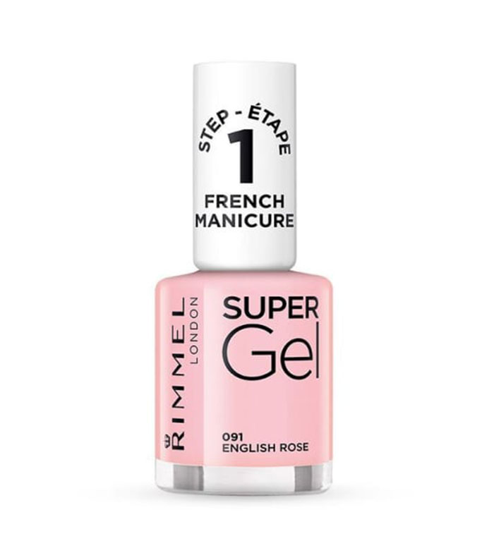 Buy Rimmel London - Super Gel French Manicure Nail polish - 091 ...