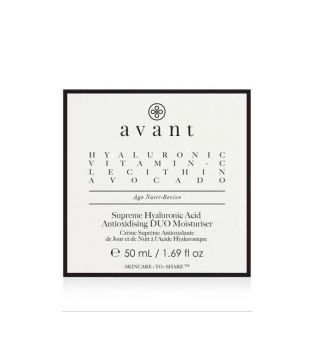 Avant Skincare - Hydrating and antioxidant duo with hyaluronic acid