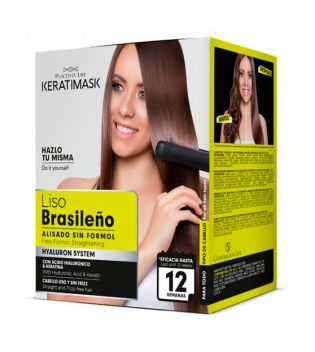 Be natural - Free formol Brazilian straightening kit