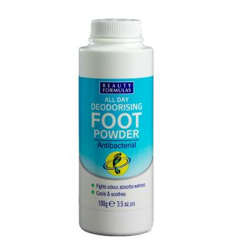 Beauty Formulas - Deodorising Foot Powder