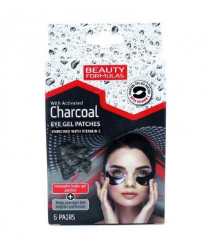 Beauty Formulas - Eye Gel Patches - Activated Charcoal