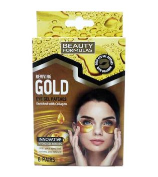 Beauty Formulas - Eye Gel Patches - Gold