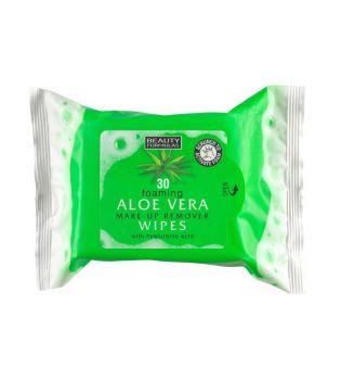Beauty Formulas - Cleansing wipes with aloe vera