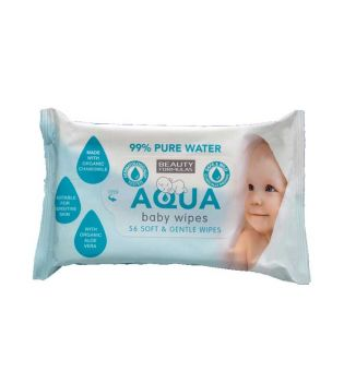 Beauty Formulas - Baby wipes Aqua Baby - 56 units