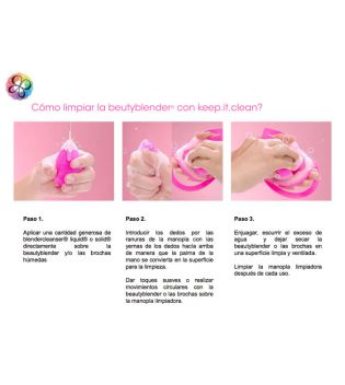 BeautyBlender - Cleansing kit for sponges - Keep.it.clean