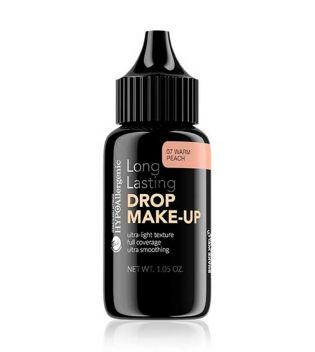 Bell - Hypoallergenic makeup base Drop Make-up - 07: Warm Peach
