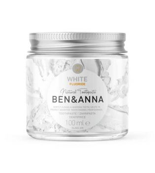 Ben & Anna - Natural cream toothpaste with fluoride - White