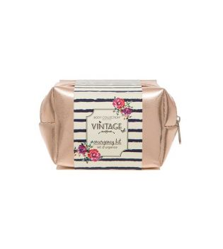 Body Collection - Emergency Kit Vintage toiletry bag