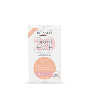 Byphasse - Cold wax strips - Face and delicate areas