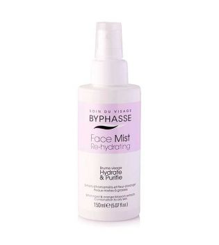 Byphasse - Face Mist Re-Hydrating - Combination and oily skin