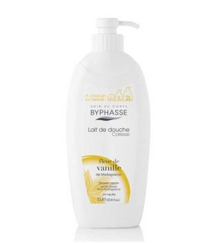 Byphasse - Shower gel Caresse 1L - Vanilla flower