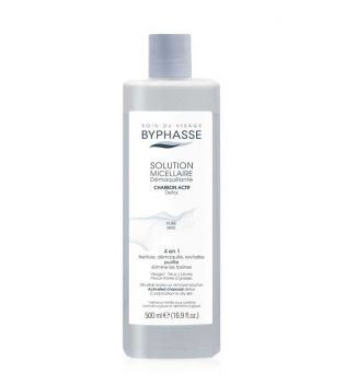 Byphasse - Micellar solution with activated carbon