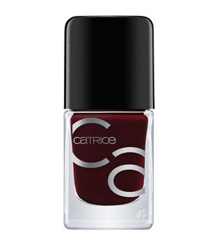Catrice - ICONails Gel Nail polish - 04: Red Midnight Mystery