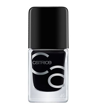Catrice - ICONails Gel Nail polish - 20: Black to the Routes