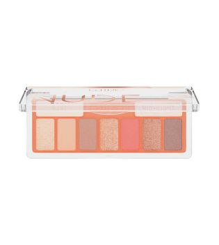 Catrice - Shadow Palette The Coral Nude Collection - 010: Peach Passion