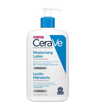 Cerave - Moisturizing lotion for dry or very dry skin - 473ml