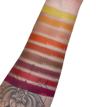 CORAZONA - Eyeshadow in godet - Sunset