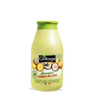 Cottage - Energizing Shower Gel 250ml - Pineapple and Coconut Cream