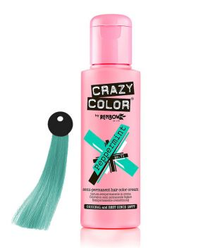 CRAZY COLOR Nº 71 - Hair colouring cream - Peppermint 100ml