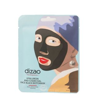 Dizao - *Masterpieces* - Hyaluron and charcoal Face Black Botomask