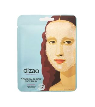 Dizao - *Masterpieces* - Charcoal Bubble Face Mask