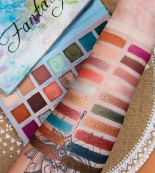 Docolor - Eyeshadow Palette -  Fantasy Blue