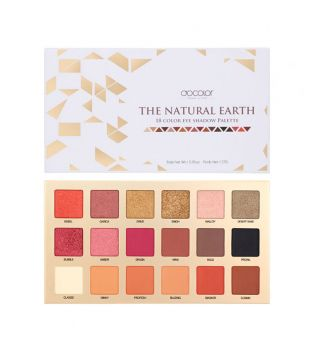 Docolor - Eyeshadow Palette - The Natural Earth